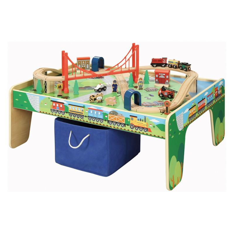 Maxim 50 Piece Train Table and Train Set - 50084