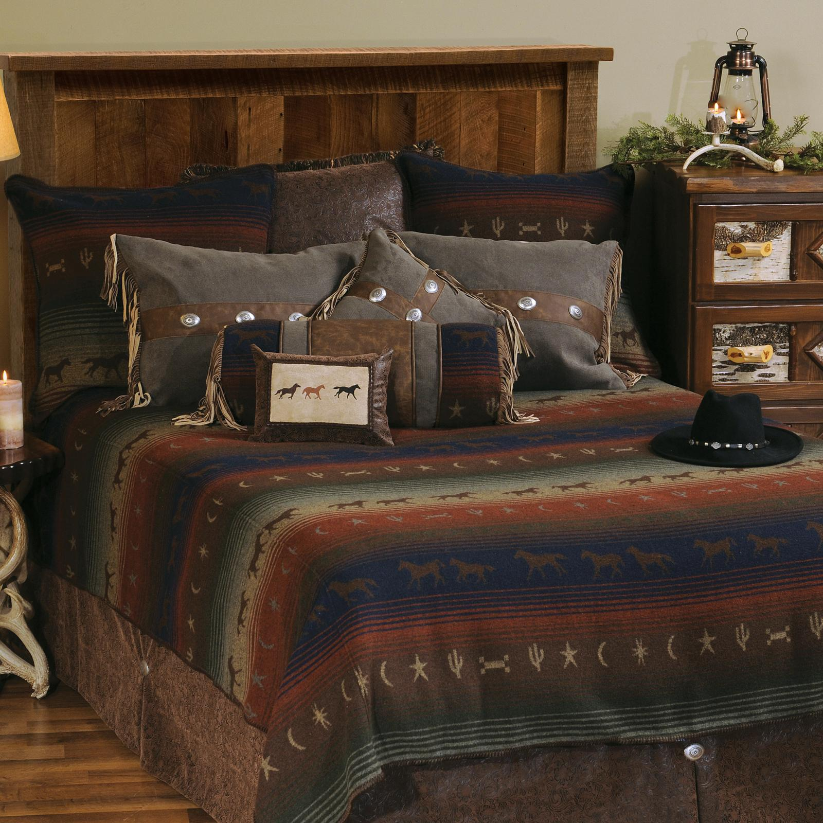 Mustang Canyon Bedding Set by Wooded River - WDQ2038