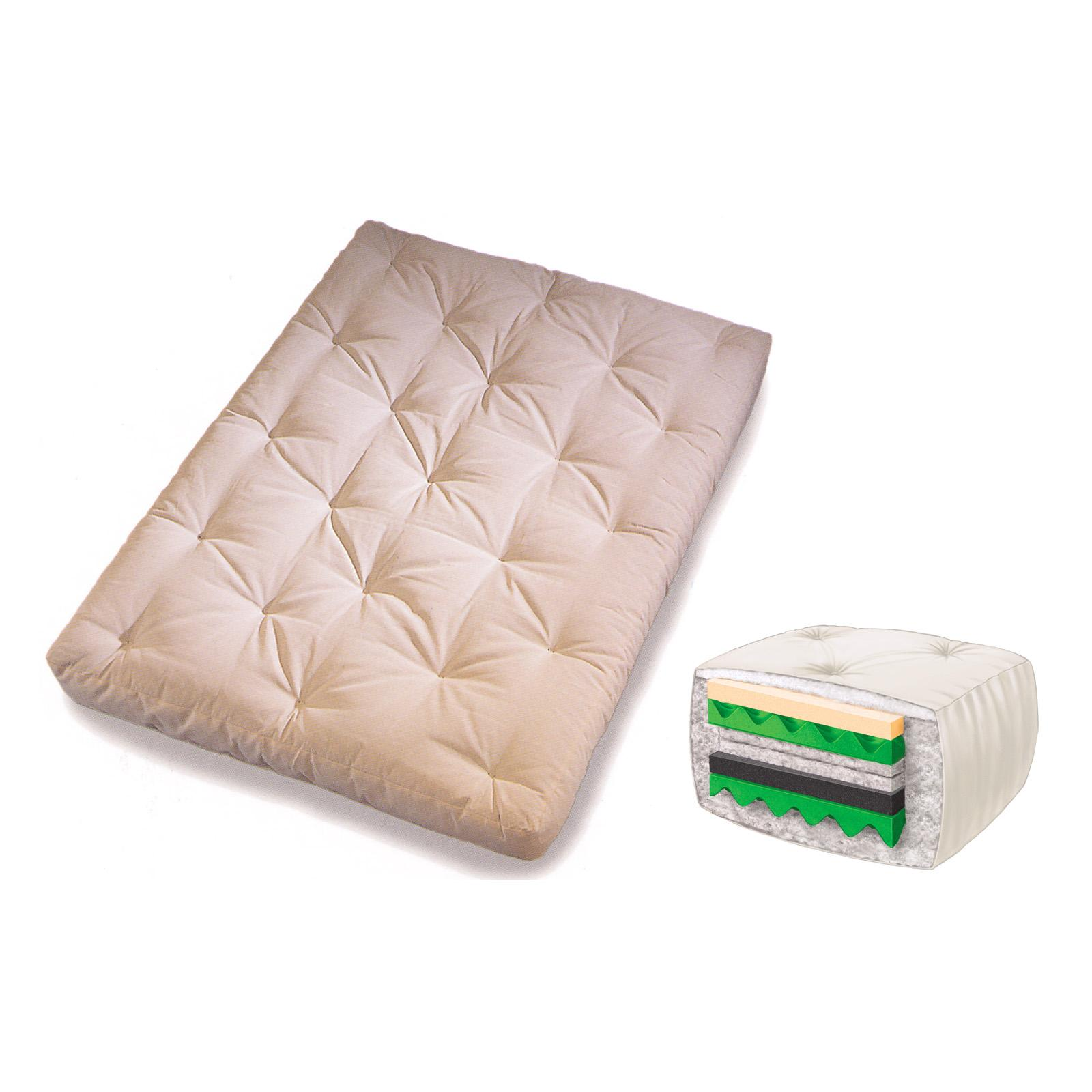 Memory Foam Futon Mattress Antelope Brown S914a5 2050