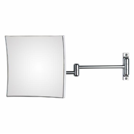 WS Bath Collections Quadrolo 63-2KK3 Magnifying Wall Mirror