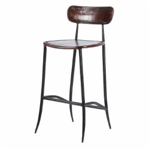 Distressed Amp Industrial Style Bar Stools Hayneedle