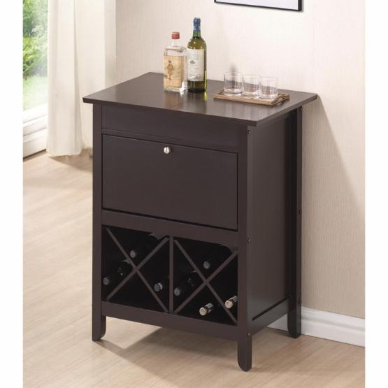 Baxton Studio Tuscany Dry Bar and Wine Cabinet