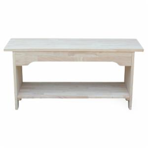 International Concepts Brookstone Trestle Bench