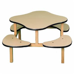 Wild Zoo Play Table - Maple