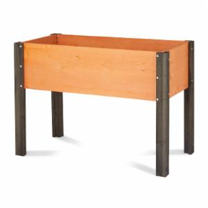 elevated garden. Coral Coast Bloomfield Wood Raised Garden Bed - 40L X 20D 29H In. Elevated M