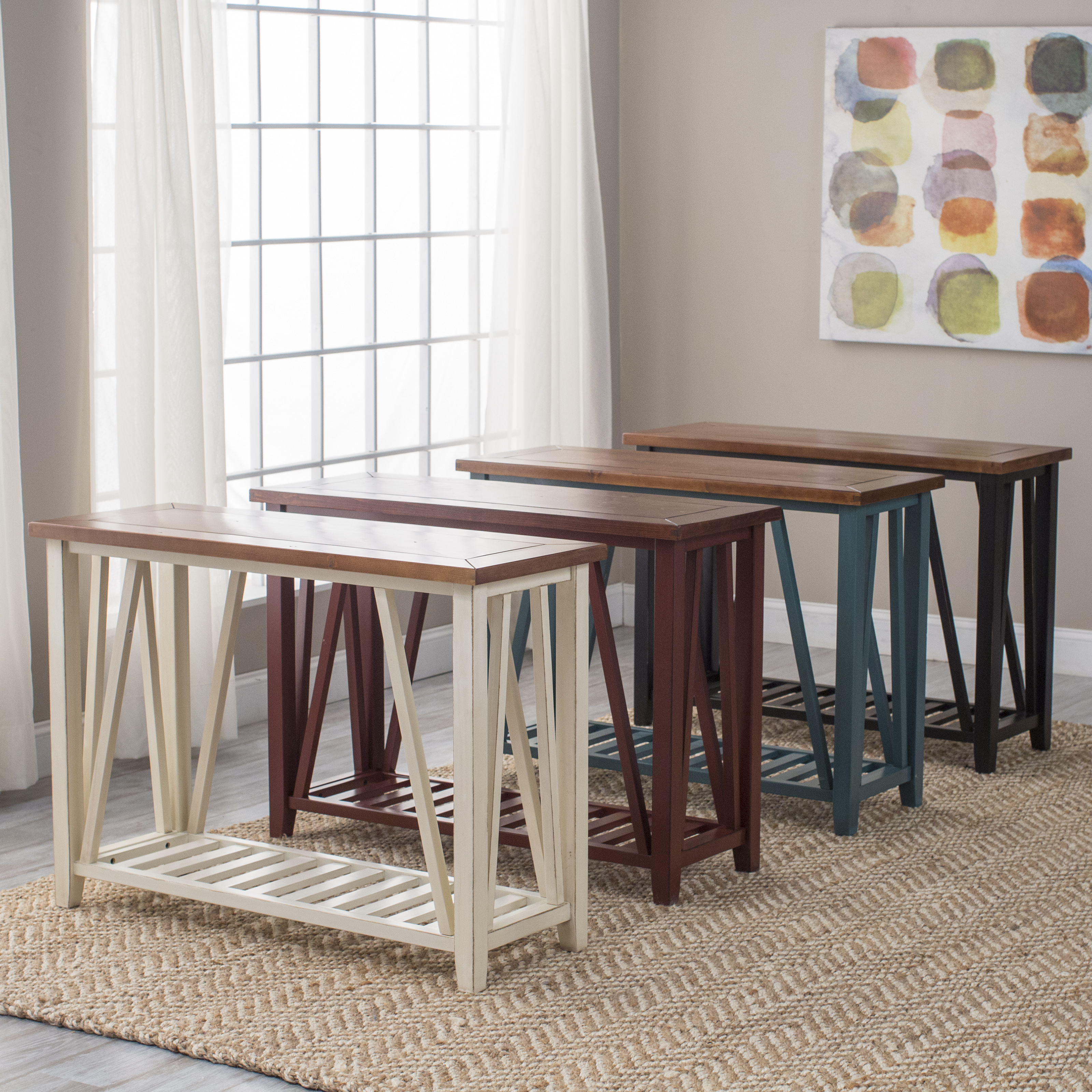 Foyer Console Table Console Tables   Entryway Tables | Hayneedle