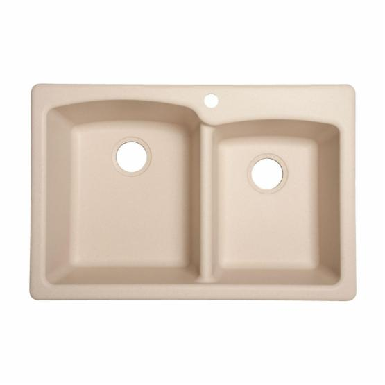 Franke USA EO33229-1 Double Basin Drop In/Undermount Kitchen Sink
