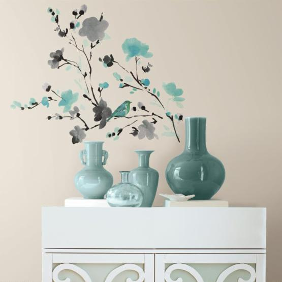 Blossom Branch Peel and Stick Wall Decals