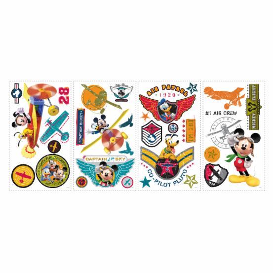 Mickey and Friends - Clubhouse Pilot Peel and Stick Wall Decals