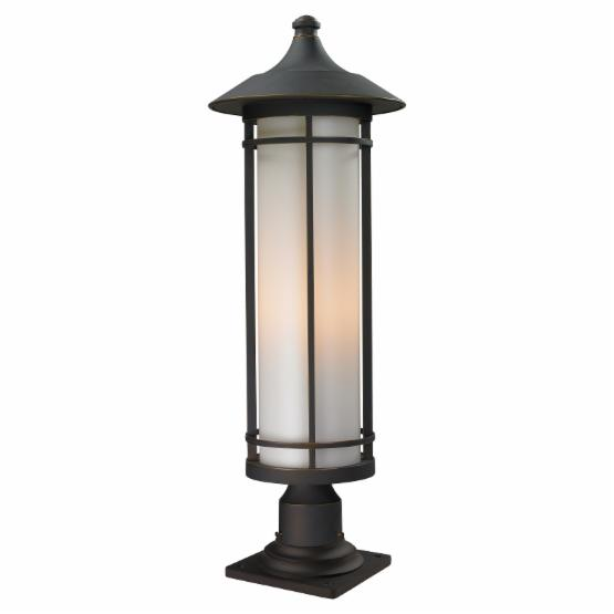 Z-Lite Woodland 530PHB-533PM-ORB Outdoor Post Light