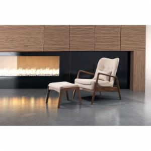 Zuo Modern Contemporary Bully Lounge Chair and Ottoman Set