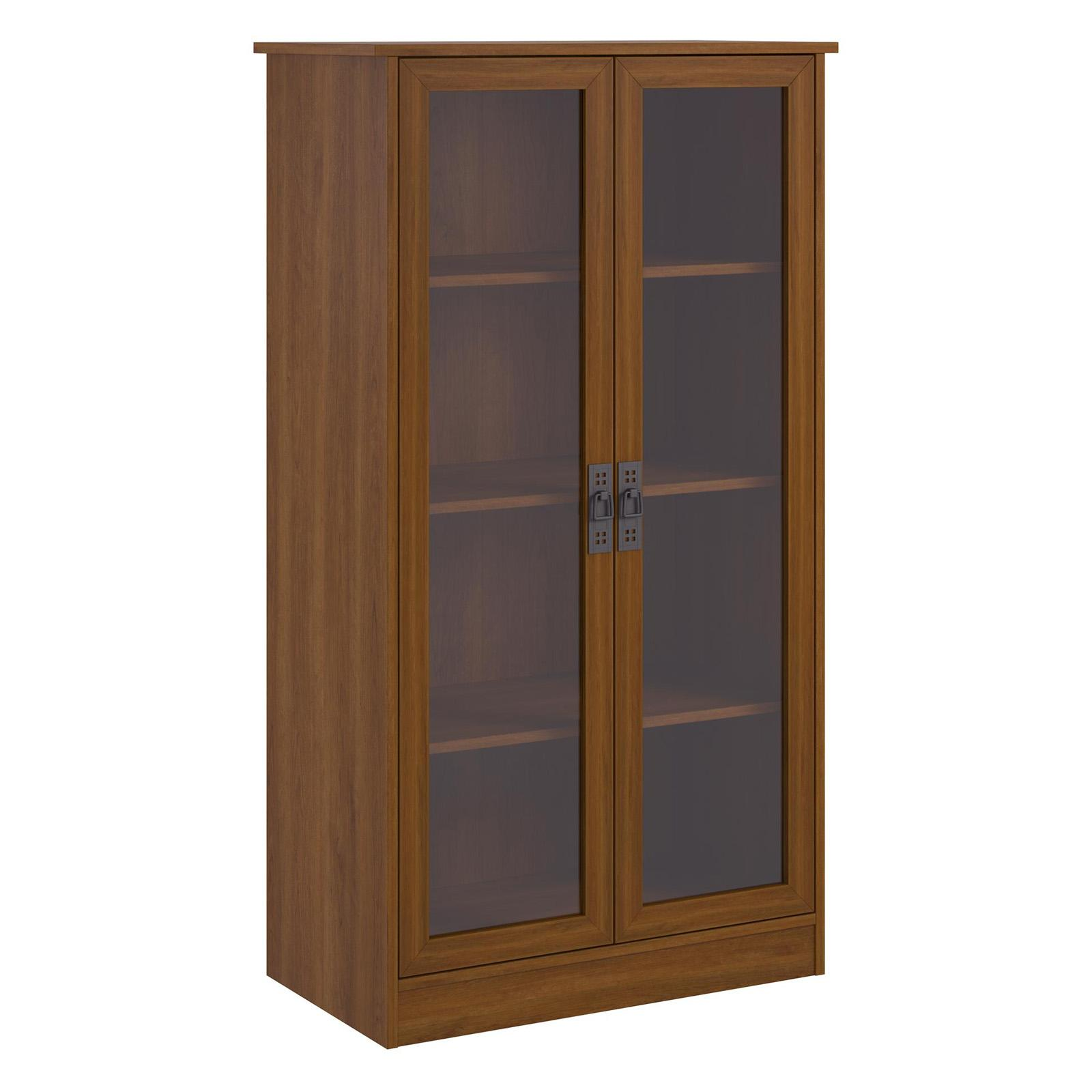 Ameriwood Home Quinton Point Glass Door Bookcase 34825 From 1355