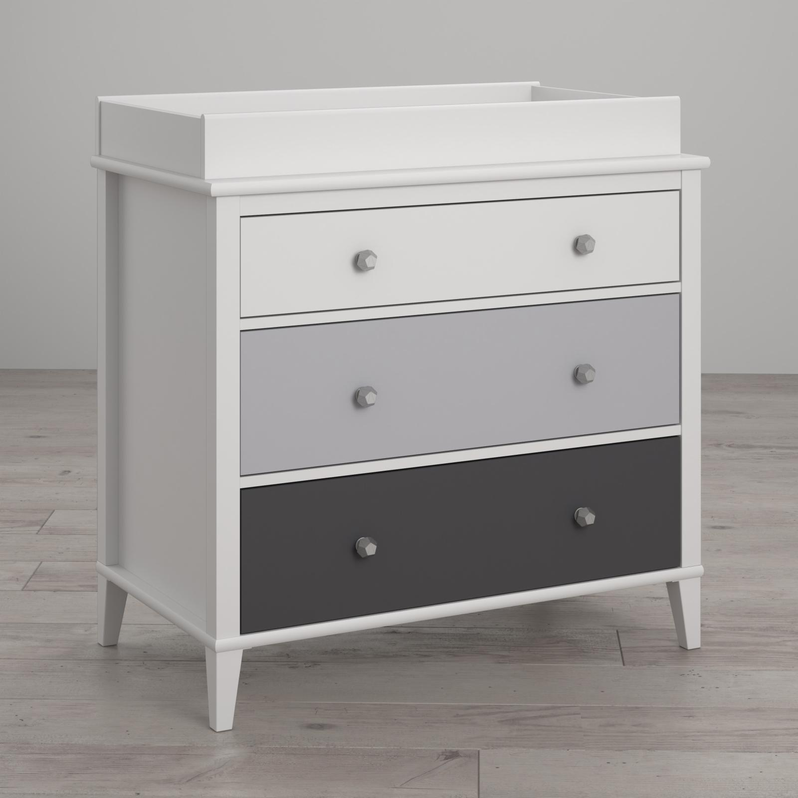 Little Seeds Monarch Hill Poppy 3-Drawer Changing Table -...
