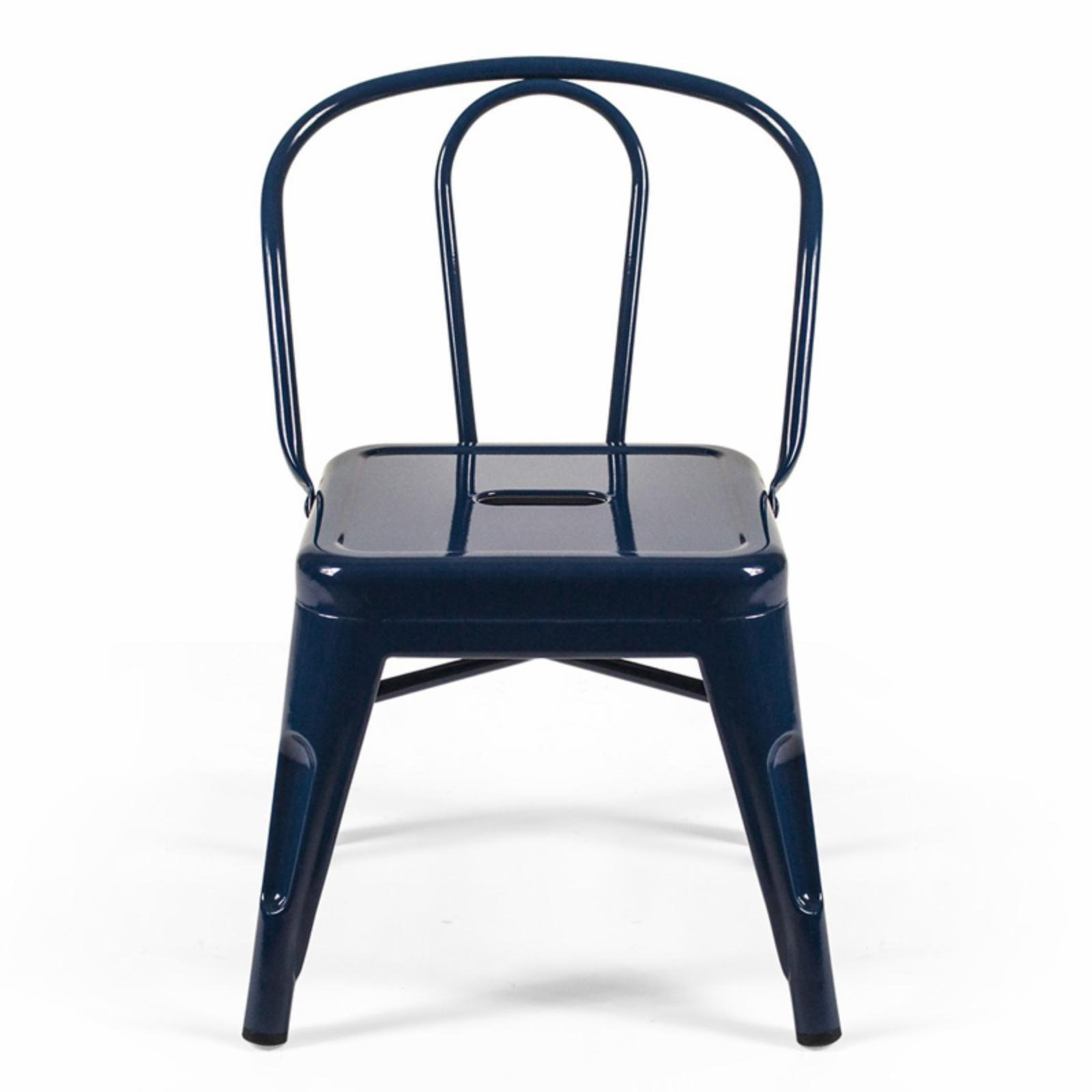 Aeon Furniture Glenda Childs Table with Chairs Navy - ANGI169-5