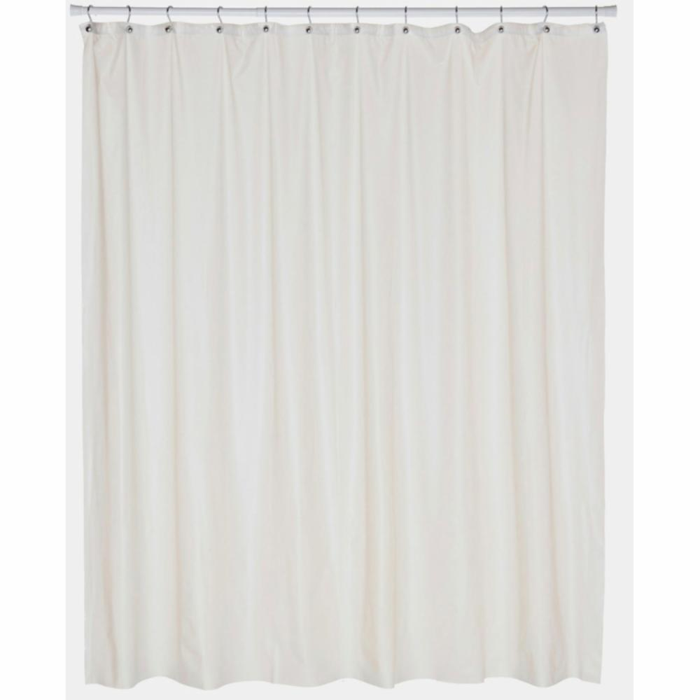 Carnation Home Fashions Stall Size 5 Gauge Vinyl Shower Curtain