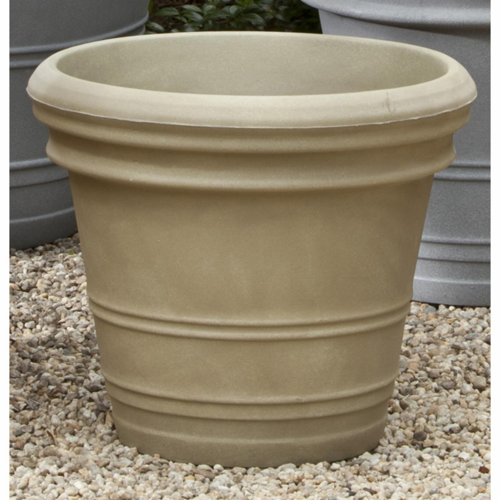 Campania International Double Rolled Rim Planter