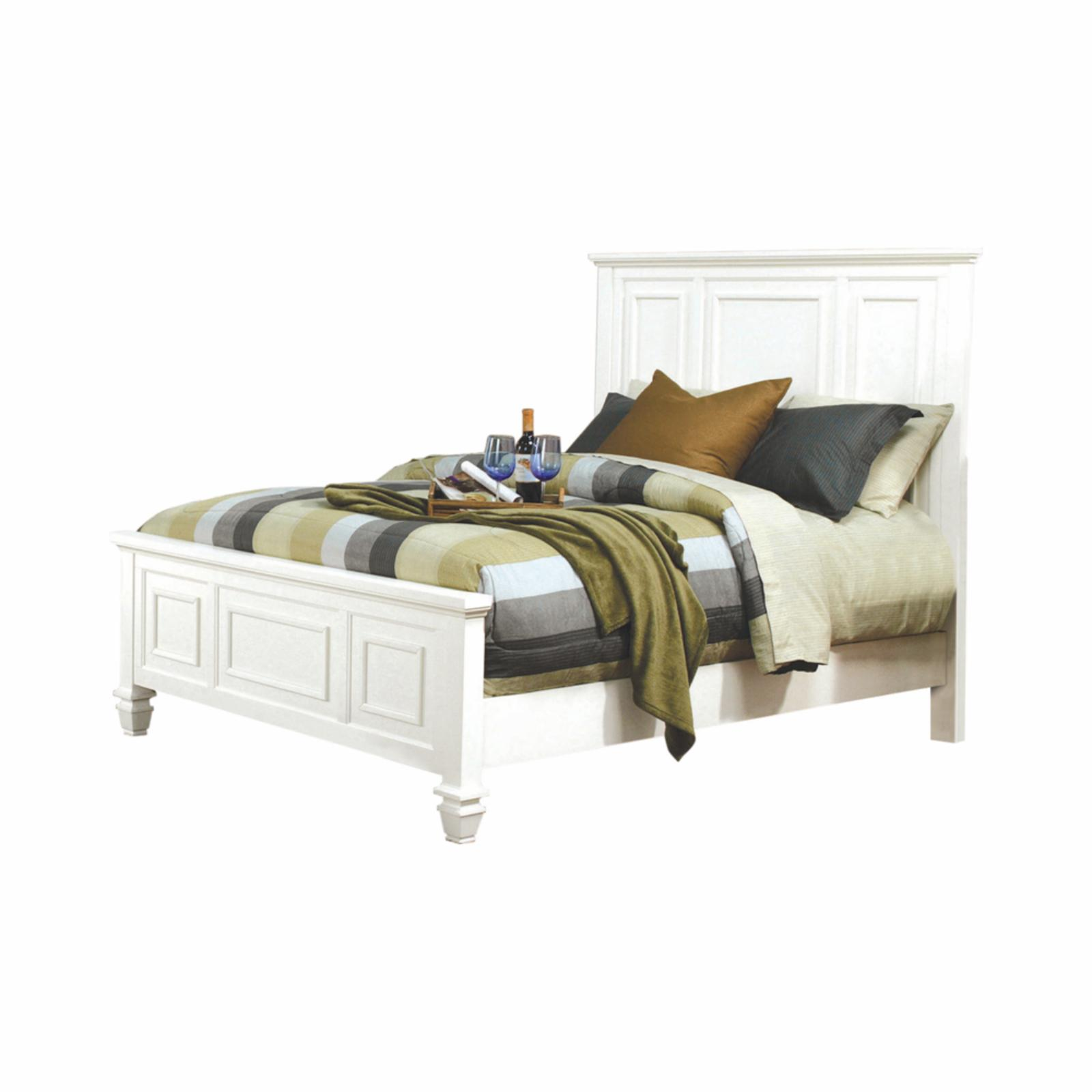 Coaster Furniture Sandy Beach Panel Bed White - 201301KW