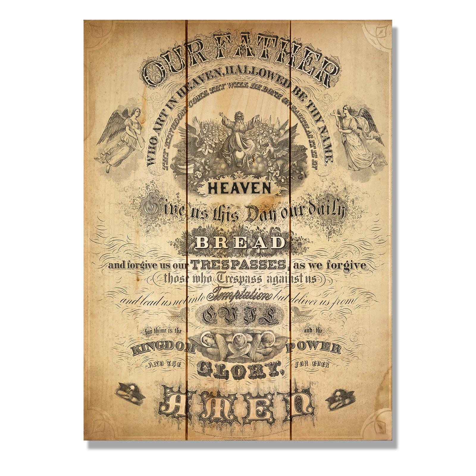 Lords prayer wall art | Wall Decor & Visual Arts | Compare Prices at ...