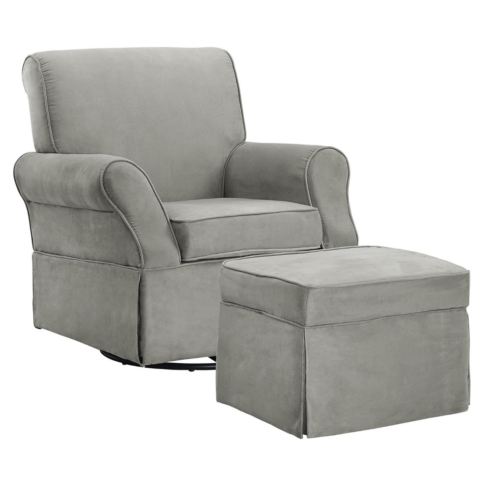 Baby Relax Kelcie Swivel Glider and Ottoman