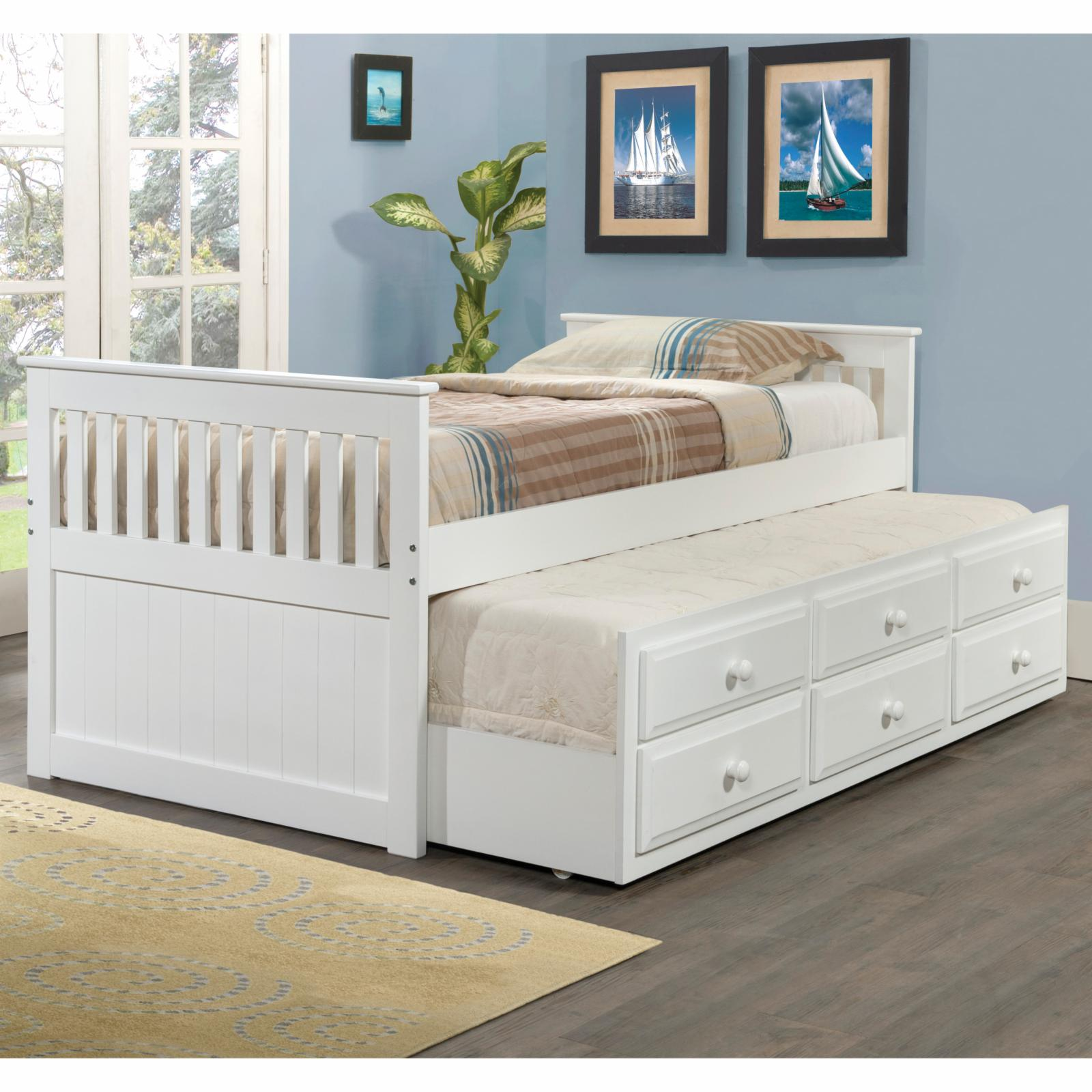 Donco Kids Captains Twin Trundle Bed - 103-TW
