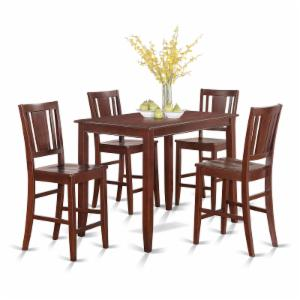 East West Furniture Buckland 5 Piece Scotch Art Dining Table Set