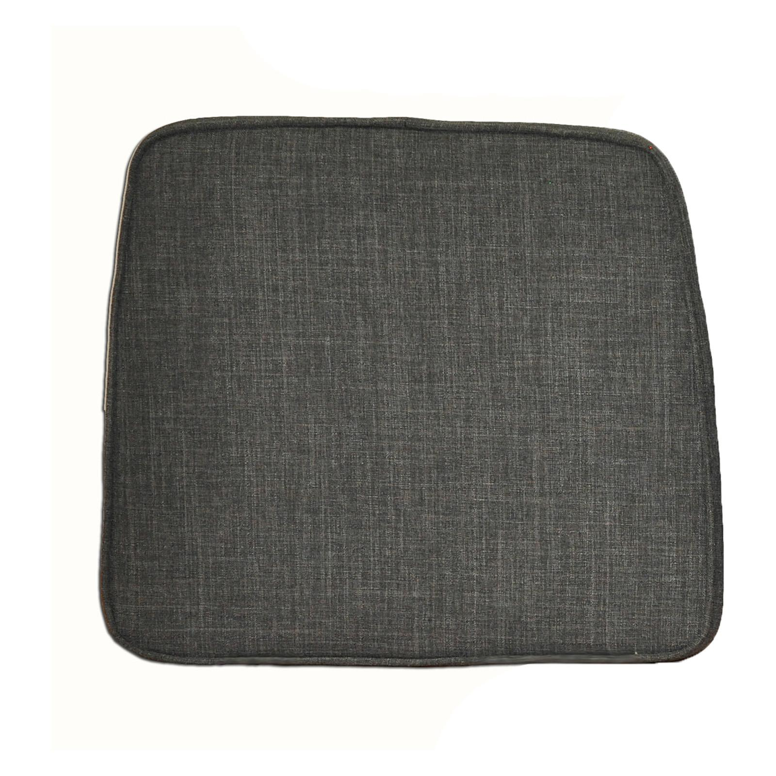 ECI Dacron Top with Memory Foam Seat Pad for Stool - Set of 2 Gray - ECI493-2