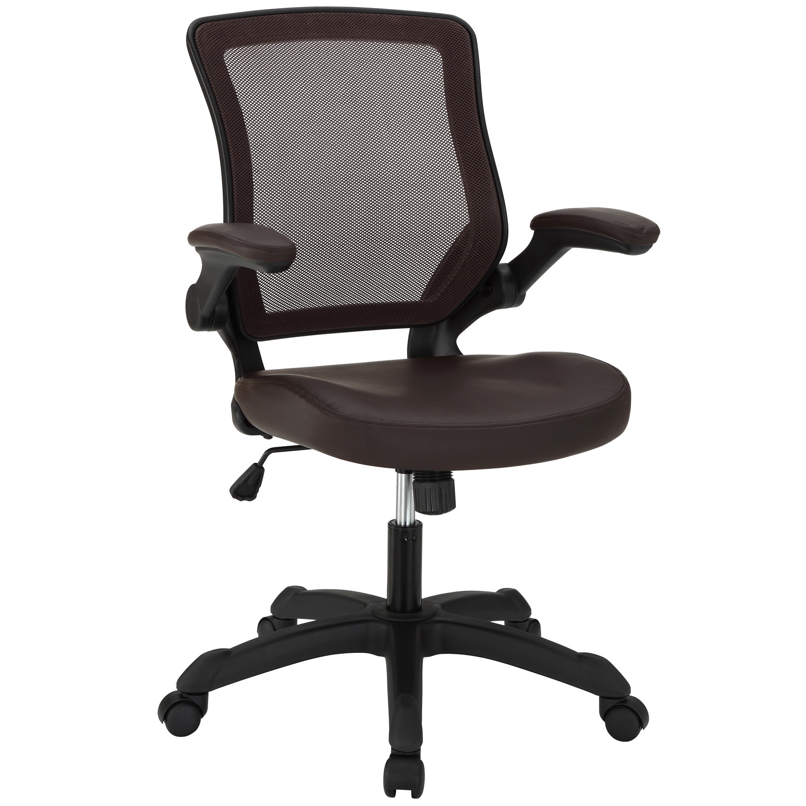 Beau Modway Veer Office Chair With Flip Up Arms
