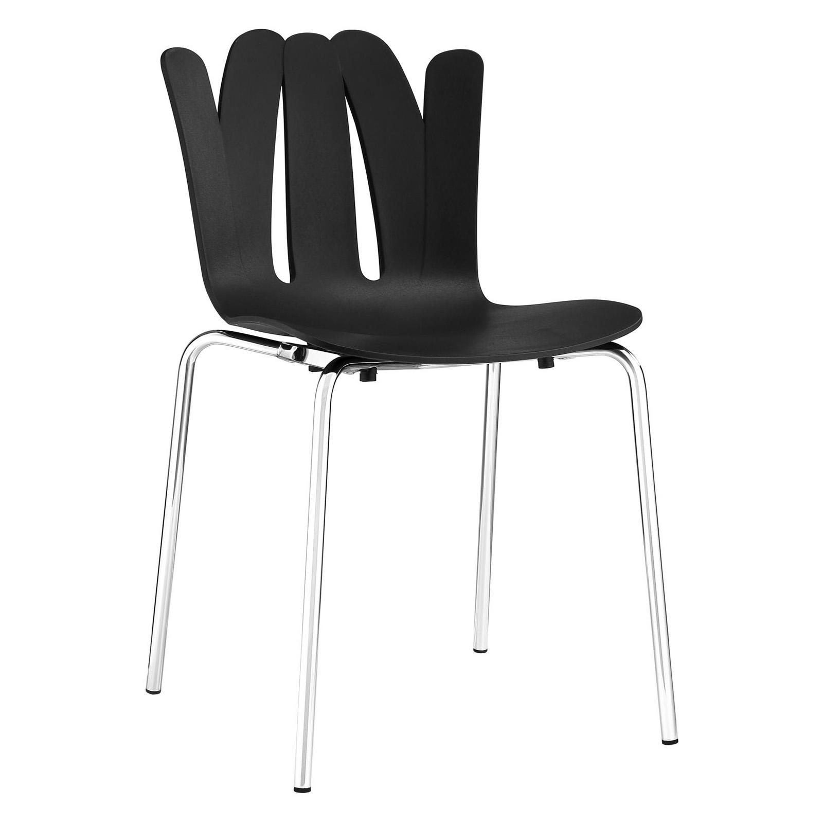Modway Flare Dining Side Chair Black - EEI-1496-BLK
