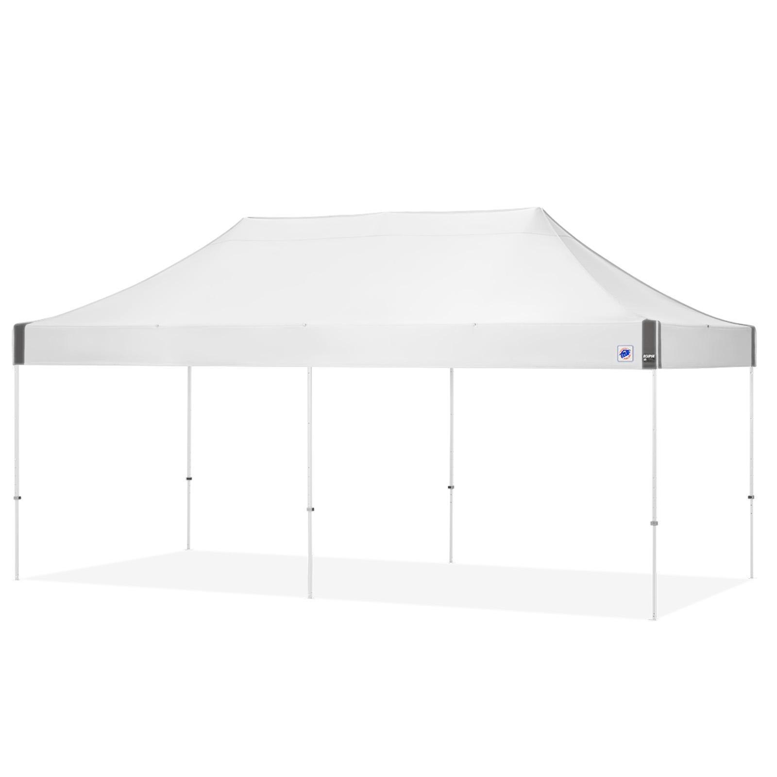 E-Z UP Eclipse 10 x 20 ft. Canopy with Carbon Steel Frame White/White - EC3STL20KFWHTWH