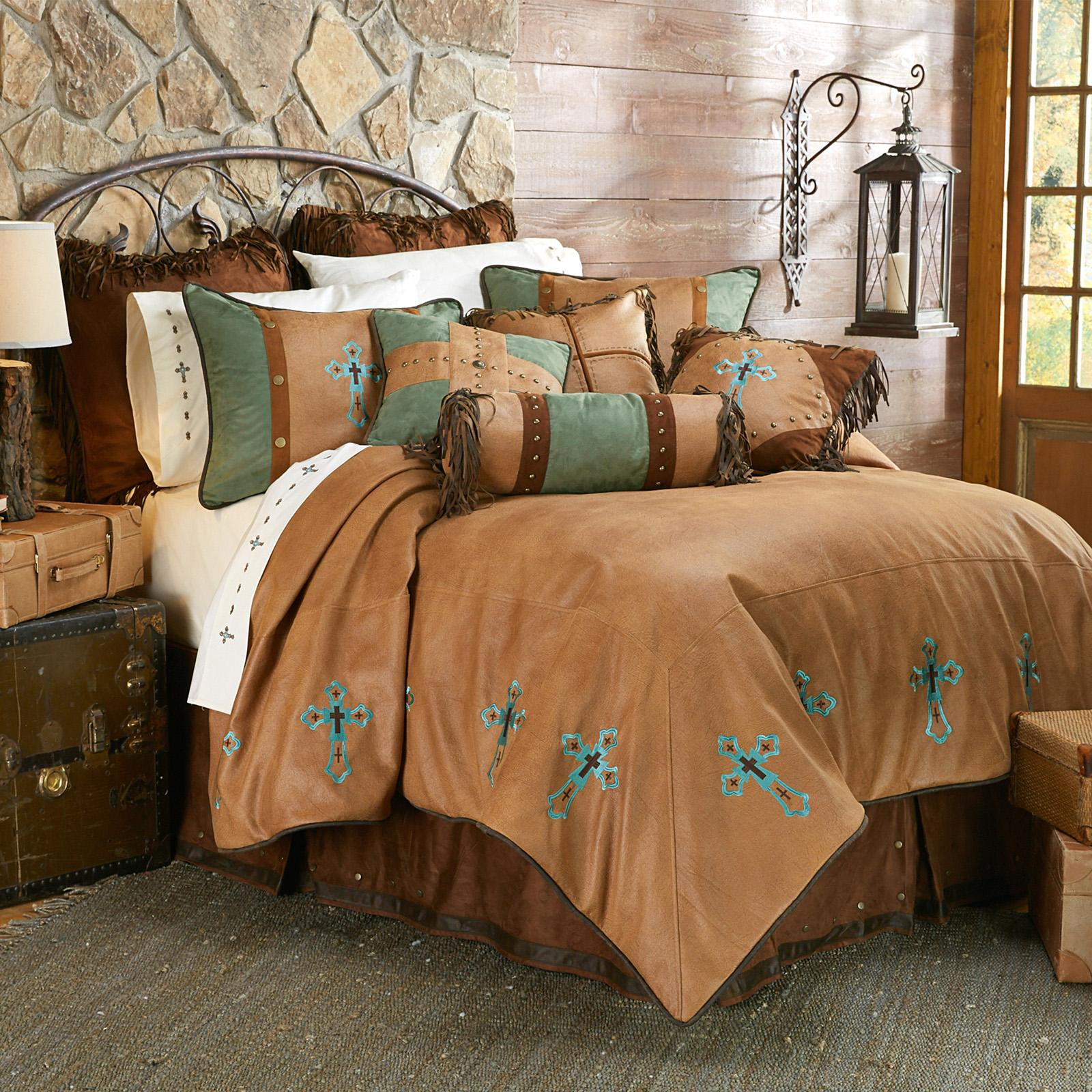 Las Cruses Ii Comforter Set By Hiend Accents Ws4183 Sk Oc