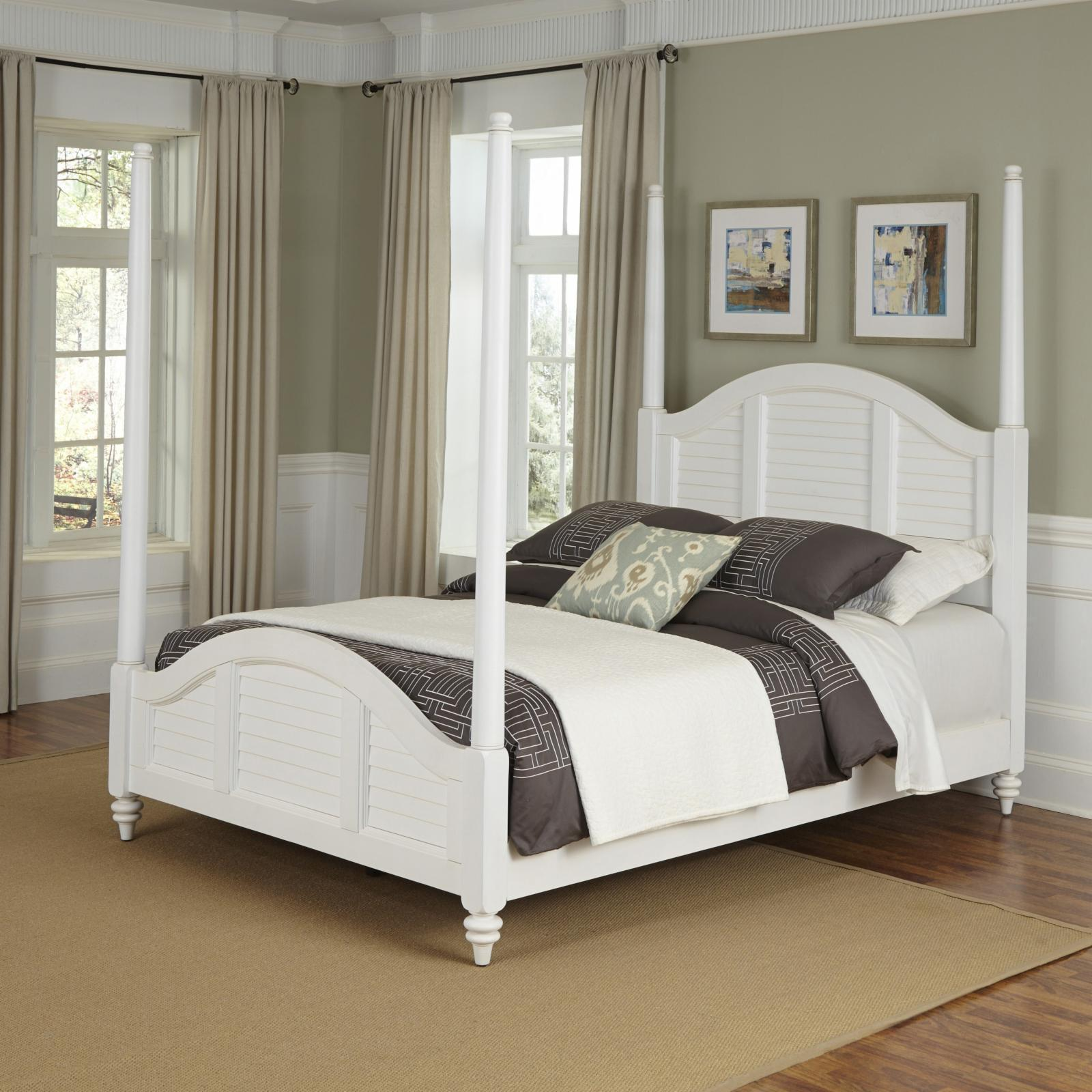 Home Styles Bermuda Poster Bed - 5543-420