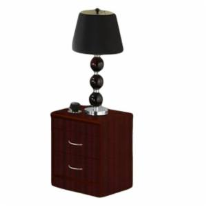 Hodedah Imports 2 Drawer Night stand