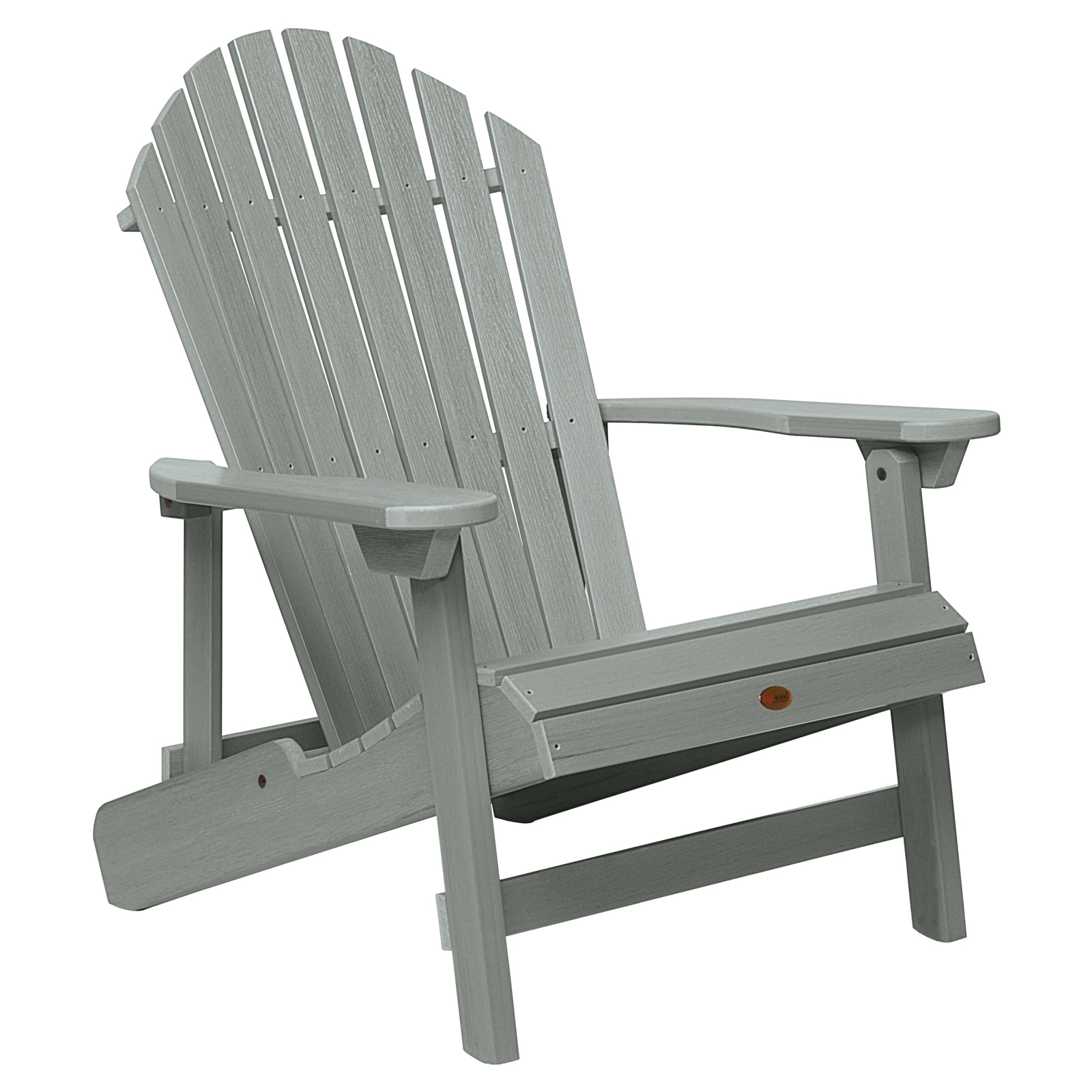 highwood king hamilton folding u0026 reclining adirondack chair hayneedle