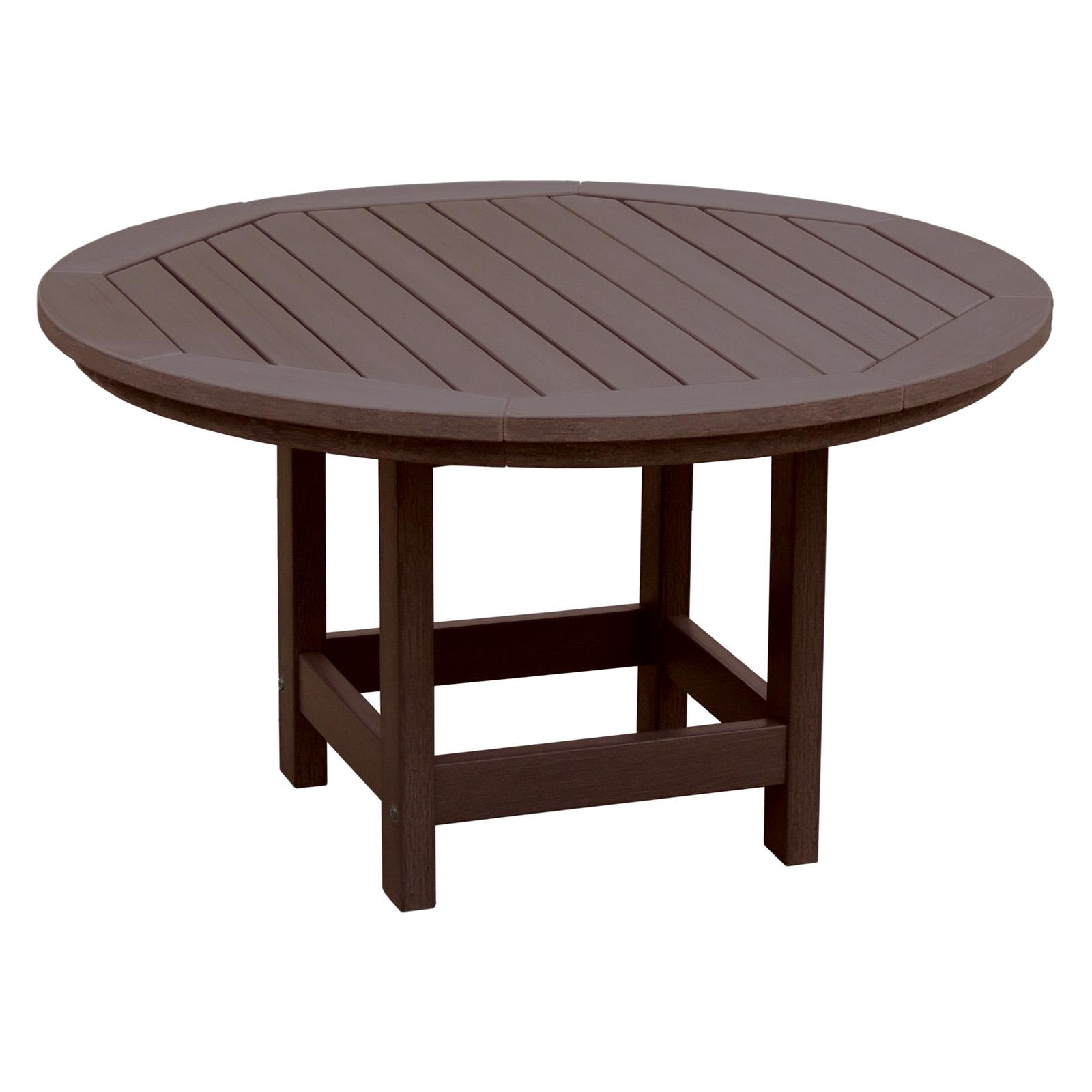 Outdoor Highwood Hamilton Recycled Plastic 36-in. Round A...