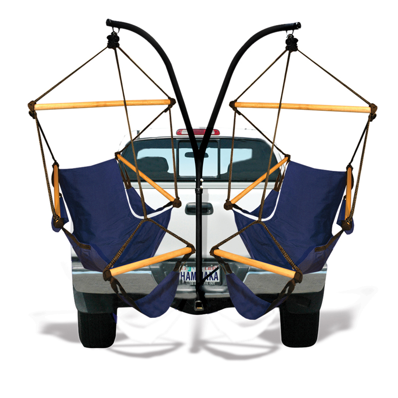 Charmant Kings Pond Hammaka Trailer Hitch Hanging Chair Stand With Hammaka Chairs  Midnight Blue | Shop Your Way: Online Shopping U0026 Earn Points On Tools,  Appliances, ...