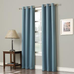 Navy Blackout Curtains On Hayneedle