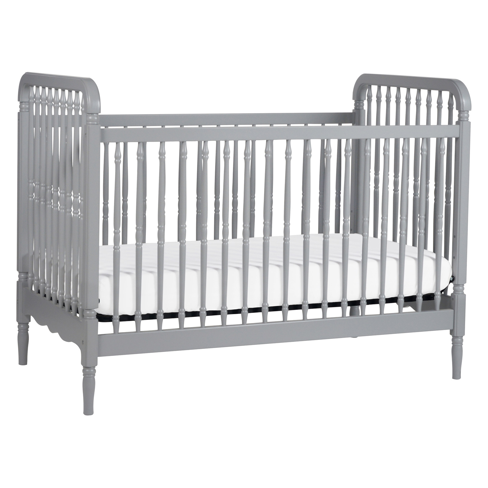 Million Dollar Baby Classic Million Dollar Baby Liberty 3 In 1 Convertible  Crib Grey | Shop Your Way: Online Shopping U0026 Earn Points On Tools,  Appliances, ...