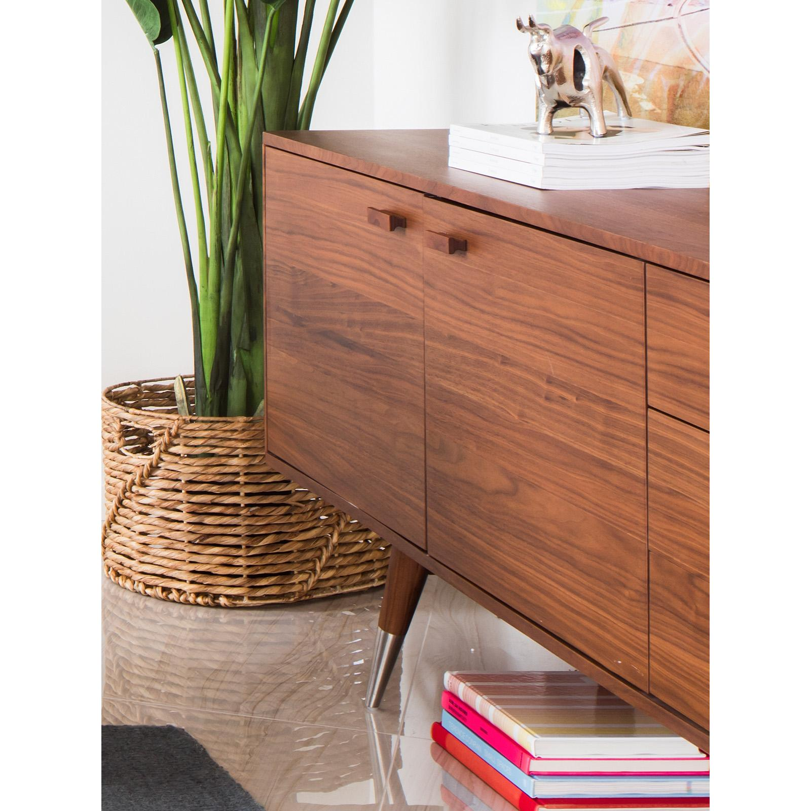 Moes Home Collection Sienna Sideboard - Walnut - CB-1024-03