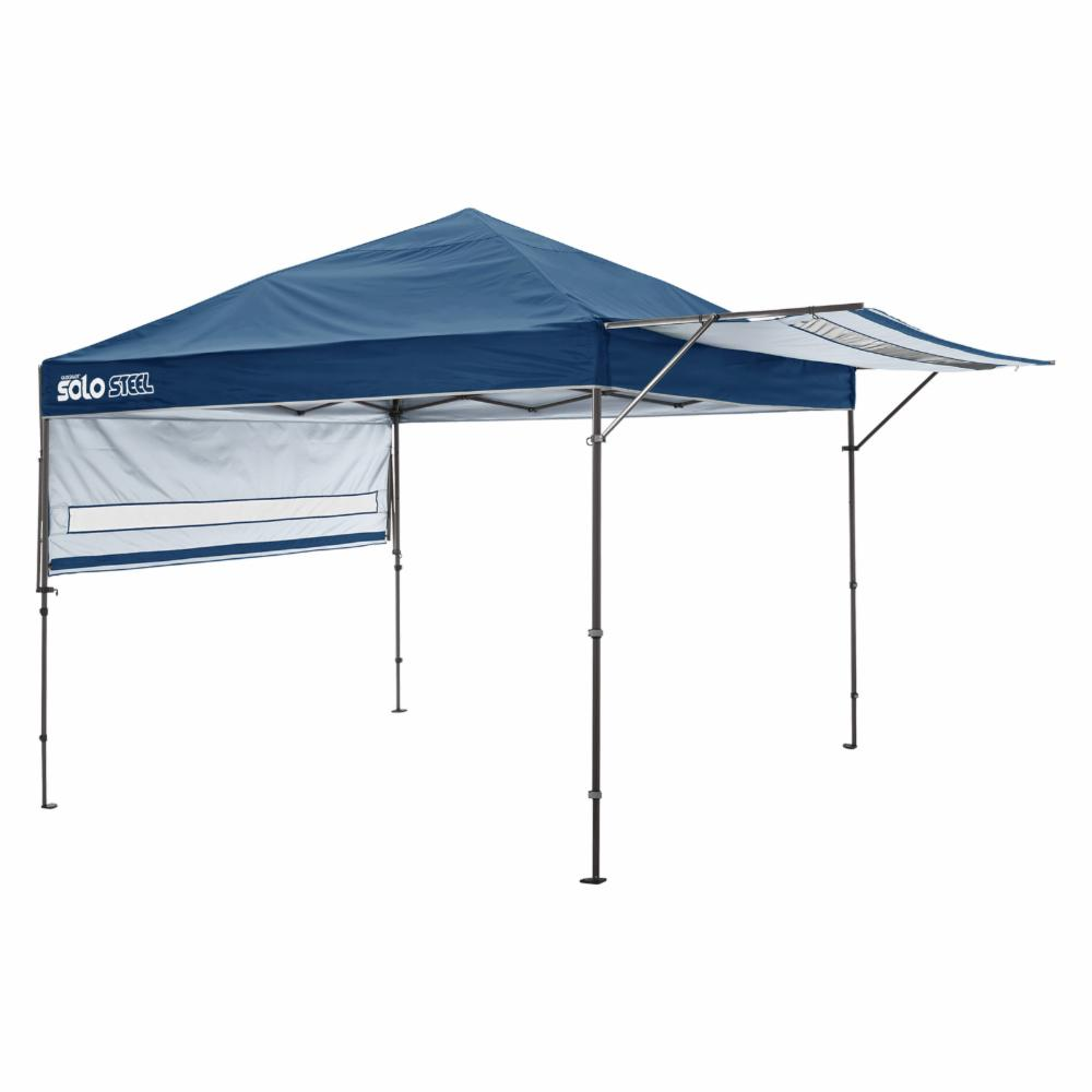 Quik Shade Solo Steel 170 10 x  17 ft. Straight Leg Canopy, Midnight bluee, 10 x  100% fit guarantee