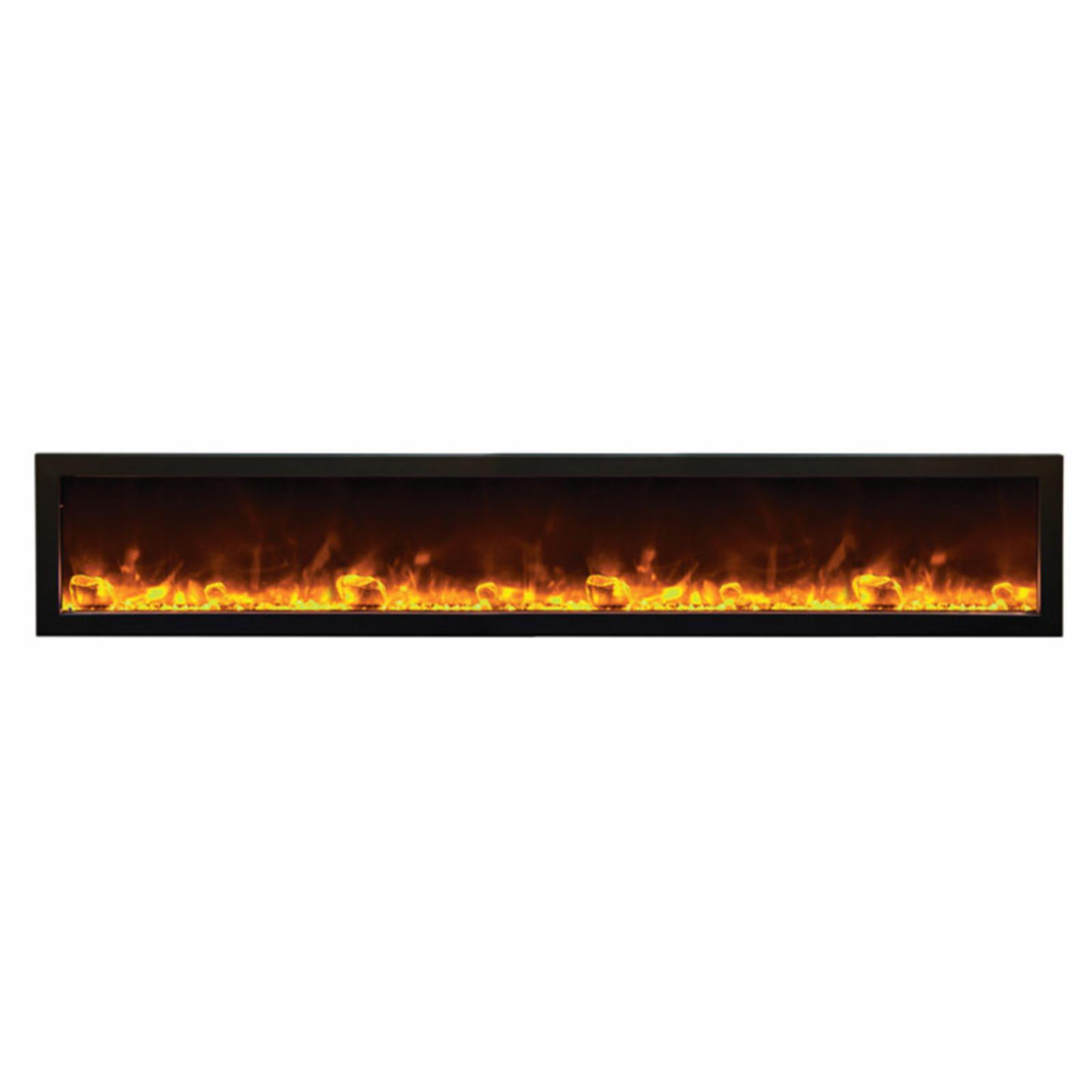 Amantii Panorama Deep Electric Wall Mount Fireplace with ...