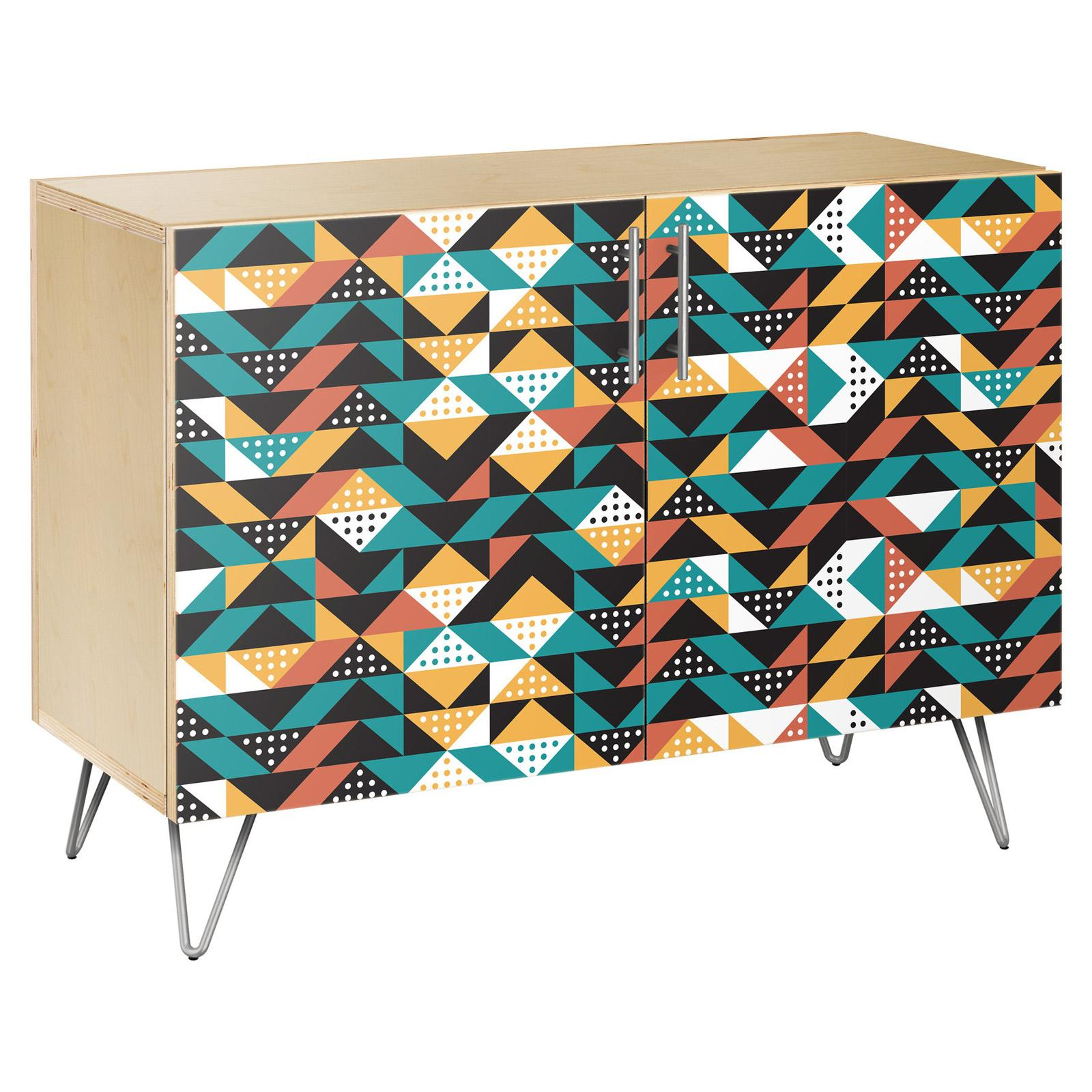 NyeKoncept Retro Disposition Hairpin Credenza - 13001725