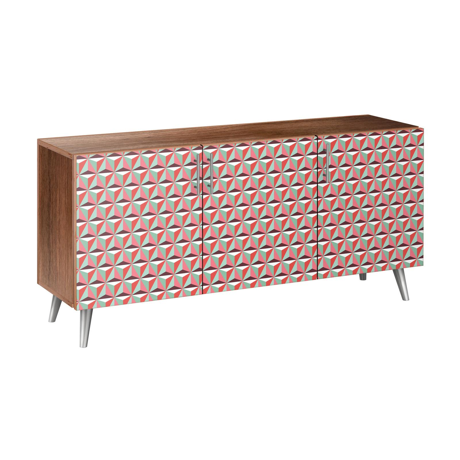 Nyekoncept Vibrant Tessellation Flare Sideboard - 13005257