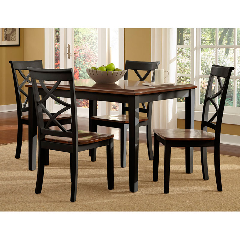 Powell Harrison 5 Piece Dining Set  sc 1 st  Hayneedle & Cherry Kitchen u0026 Dining Table Sets | Hayneedle
