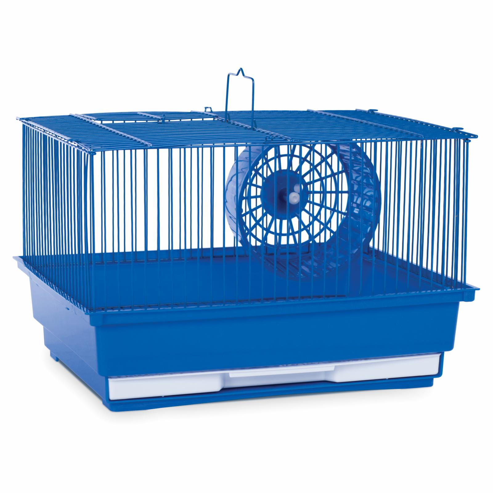 Prevue Pet Products Single Story Hamster/Gerbil Cage Blue - SP2000B