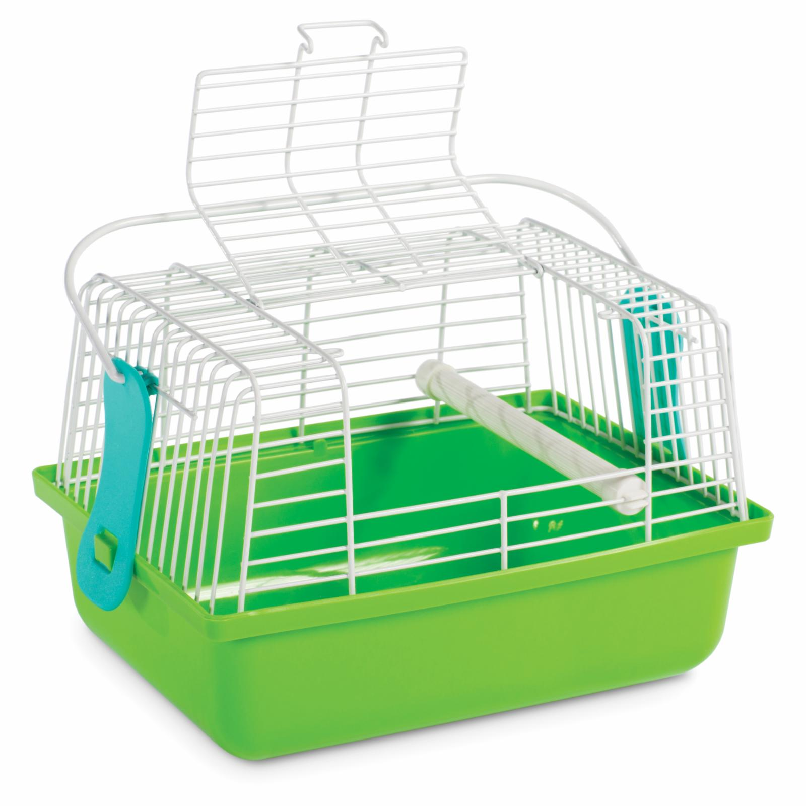 Prevue Birds and Small Animals Travel Cage SP1304 Color: Green