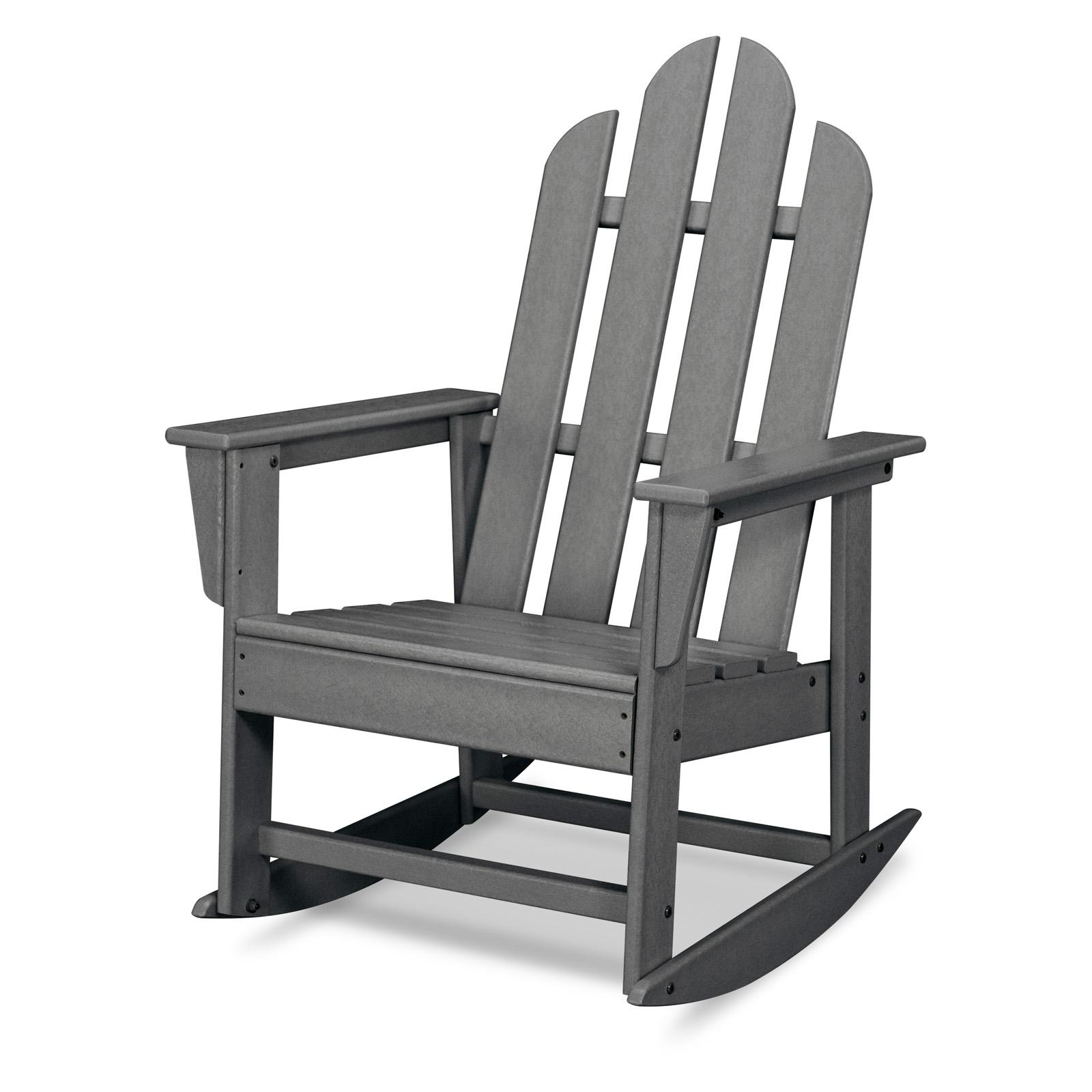 Outdoor POLYWOOD® Long Island Recycled Plastic Adirondack...