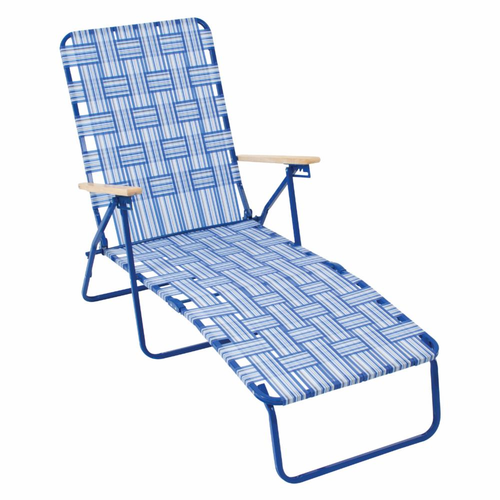 Rio brands rio deluxe folding web chaise lounge chair ebay for Aluminum web chaise lounge