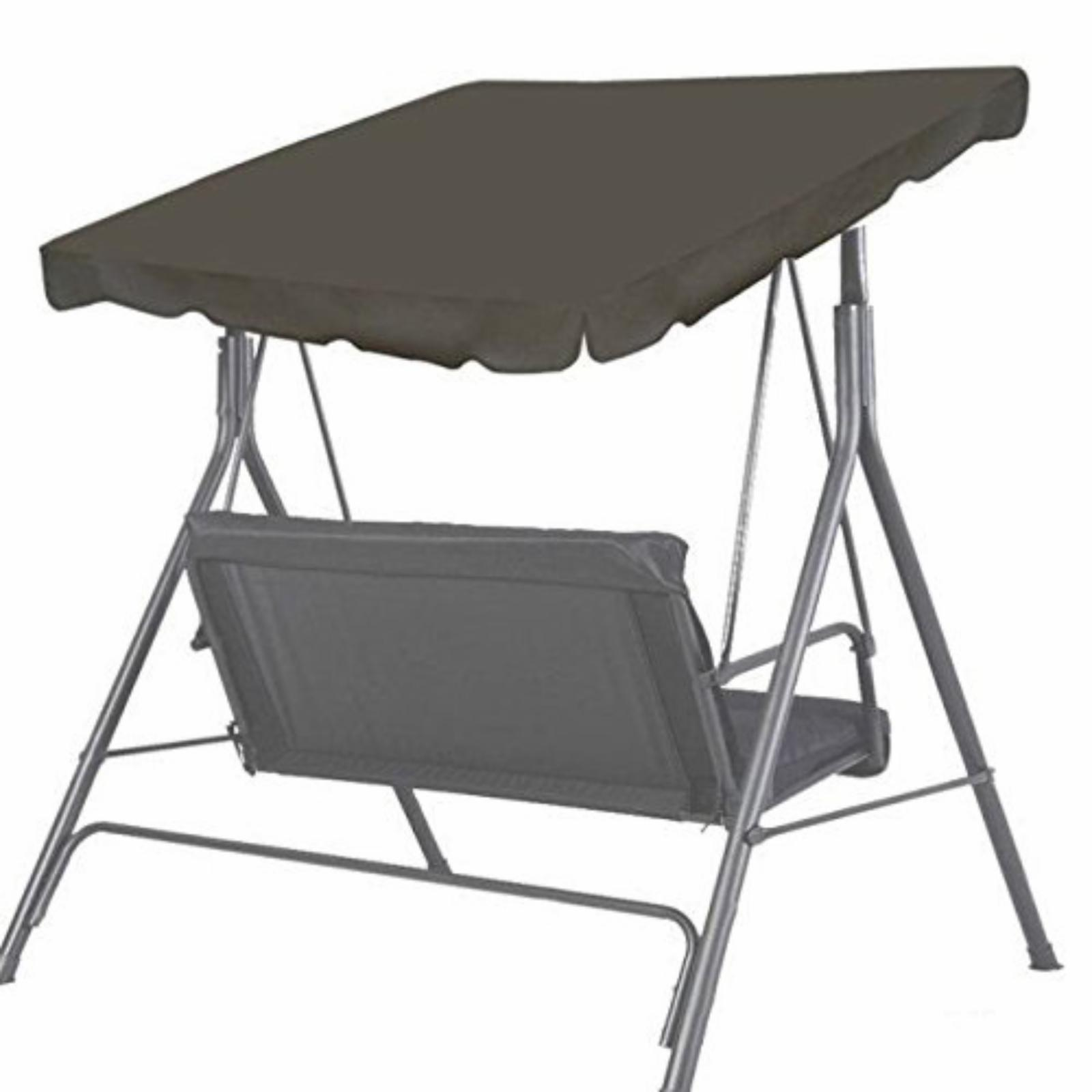 Sunrise Outdoor Patio Swing Canopy Replacement Top Taupe