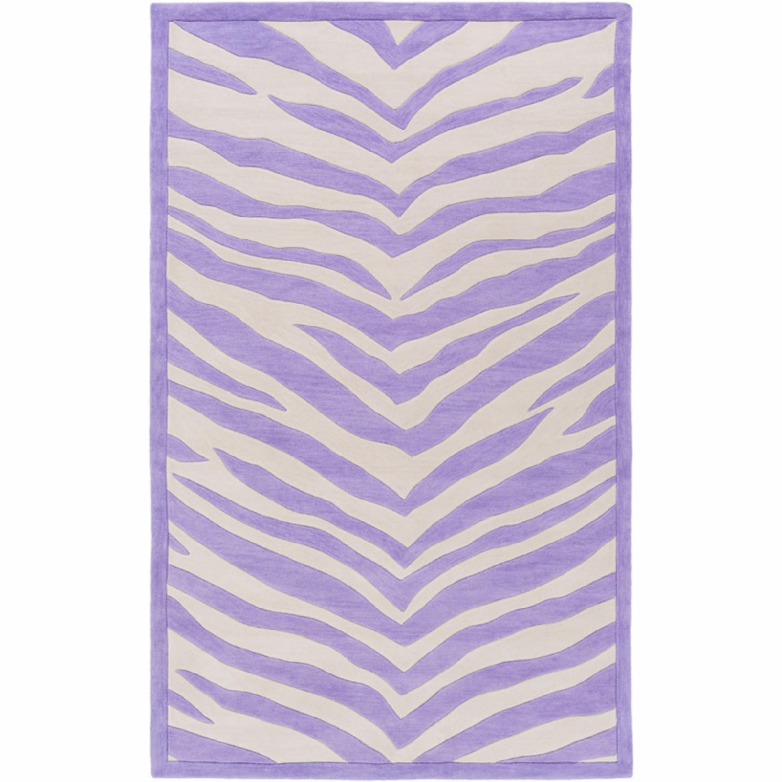 SURYA Leap Frog LPF800 Indoor Area Rug Purple / Ivory - L...