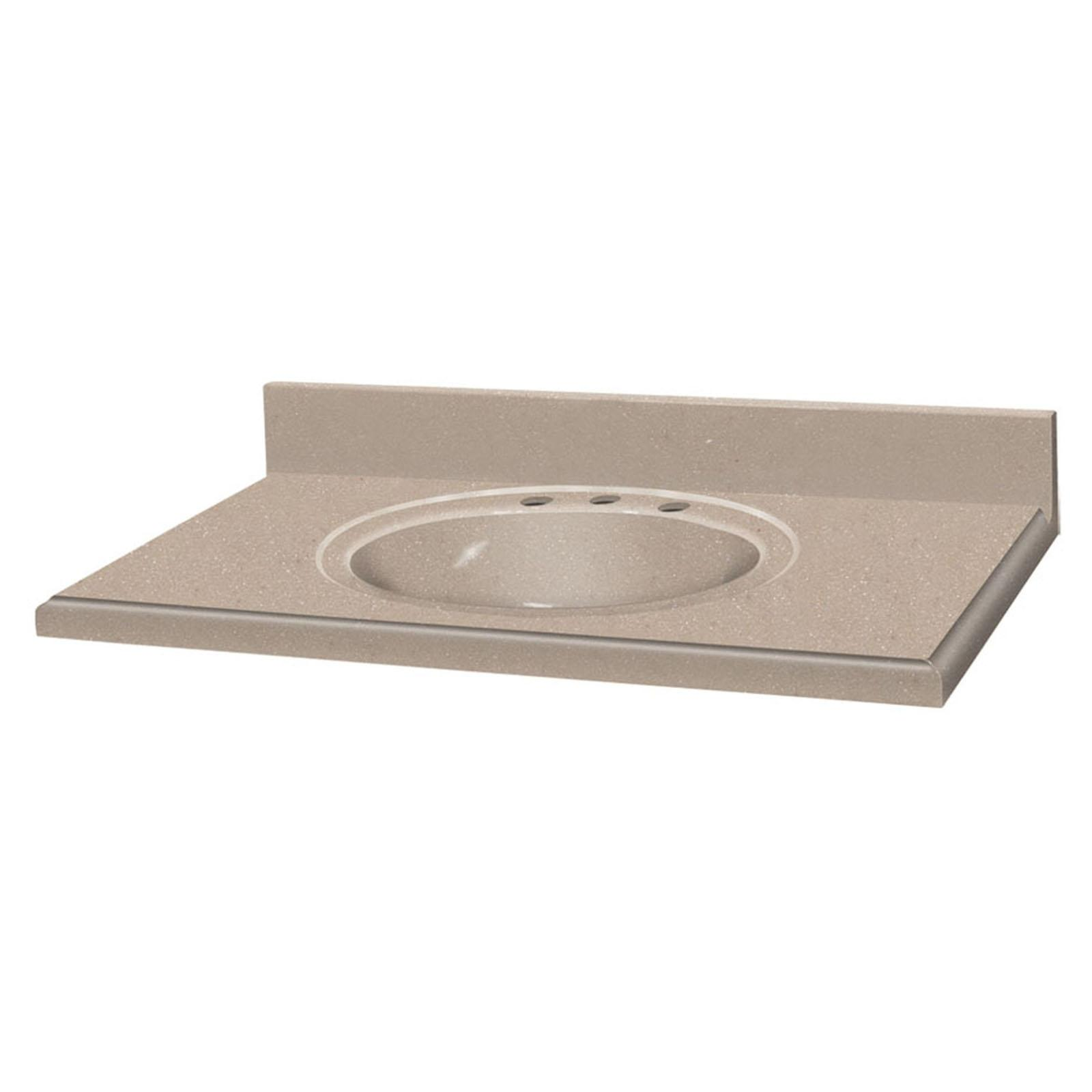 Decor Solid Surface Single Sink Vani